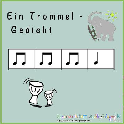 Ein Rhythmus Gedicht Für Die Trommel